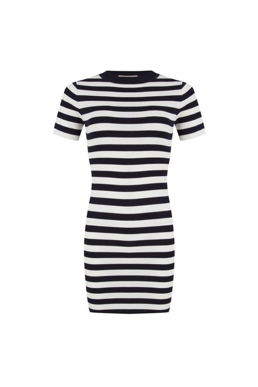 Jacky Luxury stripes jurk nautic