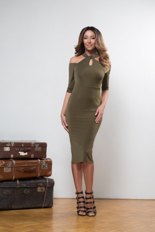 Maria Tailor dress FAITH in army
