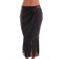 Relish - fringe skirt - Gerry - black